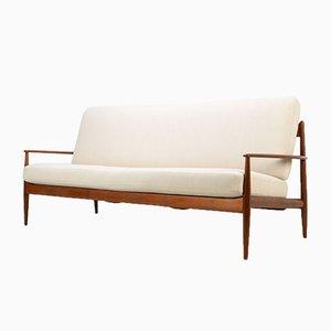 Teak Sofa by Grete Jalk for France & Son / France & Daverkosen, 1950s