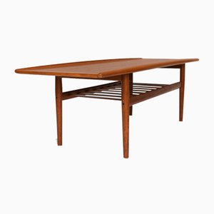 Vintage Teak Coffee Table by Grete Jalk for Glostrup