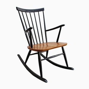 Vintage Rocking Chair by Roland Rainer