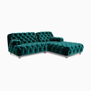 Smaragdgrünes Cocoa Island Sofa von Bretz