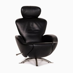 Dodo Leather Swivel Chair from Cassina