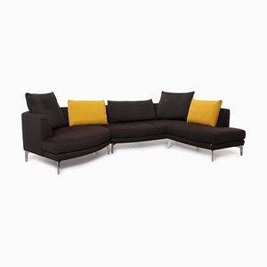 Model Av 300 Grey & Yellow Fabric Sofa from Erpo