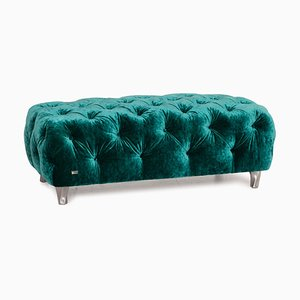 Emerald Green Cocoa Island Ottoman from Bretz