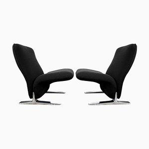 Niederländische Sessel von Pierre Paulin für Artifort, 2er Set