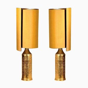 Lampes de Bureau par Bitossi pour Bergboms, Set de 2