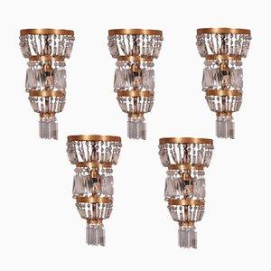 Lampade da parete, set di 5