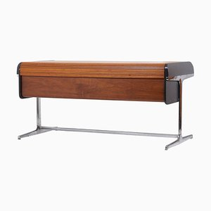 Early Tambour Roll-Top Desk by George Nelson for Herman Miller