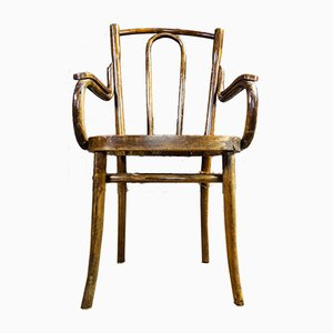 Antique Wooden Thonet Style Chair, 1900s