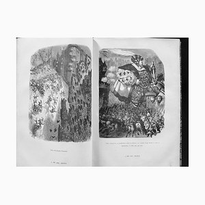 Gustave Doré, Gargantua, Illustrated Book, 1854