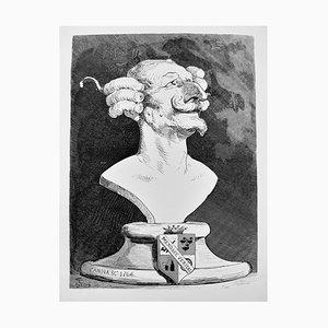 Gustave Doré, Die Abenteuer des Baron Münchhausen, Radierung, 1862