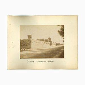 Unbekannte, Antike Ansicht von Guatemala-Stadt, Original Vintage Photo, 1880er