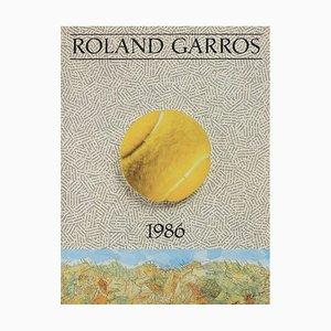 Jiří Kolář Poster by Roland-Garros, 1986