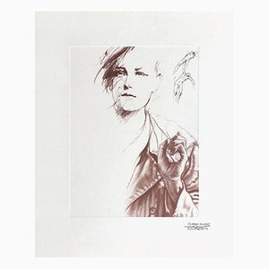 Rimbaud Variations XI by Ernest Pignon-Ernest