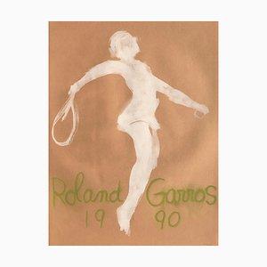 Claude Garache Poster by Roland-Garros, 1990