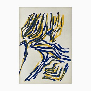 Dlm142, Yellow Tree by Raoul Ubac