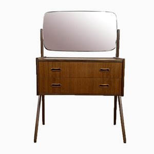 Scandinavian Teak Dressing Table, 1960s