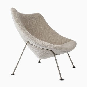 Large Oyster F157 Lounge Chair by Pierre Paulin for Artifort, Holland, 1950s