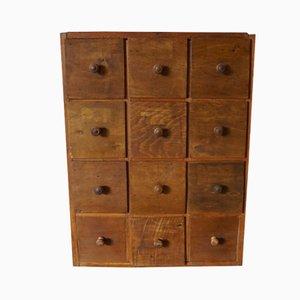 Armario para herramientas industrial de madera de pino