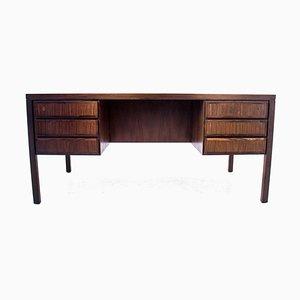 Palisander Modell 77 Schreibtisch von Omann Jun, Denmark, 1960er