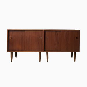 Mid-Century Danish Teak Sideboards, 1960s, Set of 2