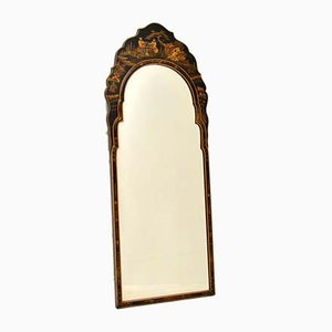 Antique Queen Anne Style Chinoiserie Mirror