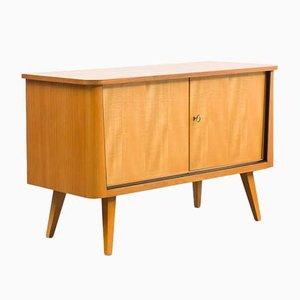 Mobiletto in legno di frassino, anni '50