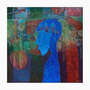 Liu Guoyi, Chinese Painting, Losing Pumpkin Lantern