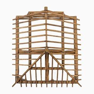 Schrägdach-Architekten-Modell