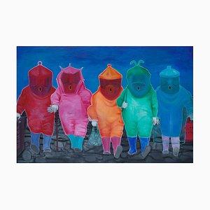 Chinese Contemporary Art, Portrait, Where Is the Way von Liu Guoyi