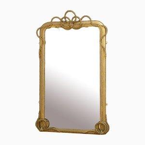 Miroir Mural ou Miroir Mural Victorien Doré