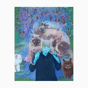 Chinese Contemporary Art, Portrait, Idol No.3 by Liu Guoyi