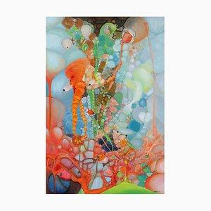 Chinese Contemporary Art, Abstract, Rebirth Series No.13 by Liu Guoyi