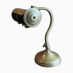 Lampada da scrivania in ottone