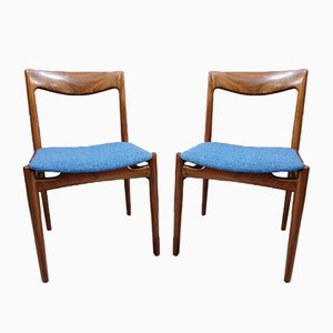 Danish Palisander Dining Chairs, 1960s, Set of 2