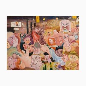 Liu Guoyi, Chinese Painting, Super Happiness No.45