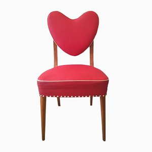 Heart-Shaped Chair, Spain, 1940s