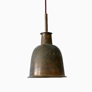 Lampe à Suspension d'Eglise Moderne Mid-Century en Laiton, Allemagne, 1950s