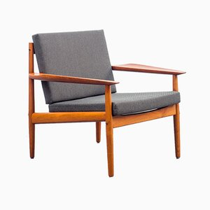 Restored Danish Teak Armchair by Arne Vodder for Glostrup, 1960s