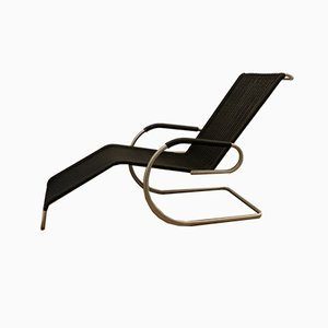 Rattan Kragliege F42-1E Chaise Longue by Ludwig Mies van der Rohe for Tecta