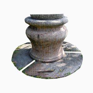 Pozzo rotondo in pietra, Italia, inizio XX secolo