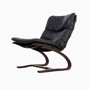 Vintage Scandinavian Siesta Lounge Chair by Ingmar Relling for Westnofa, 1965