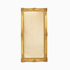 Miroir Mercury Rectangulaire Antique avec Cadre Doré, 19ème Siècle