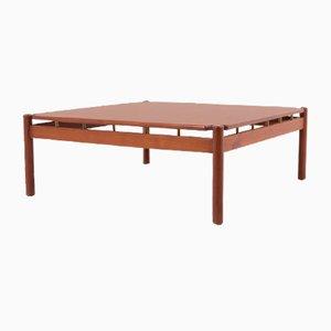 Tavolo piccolo in teak di Ilmari Tapio Danger, anni '60