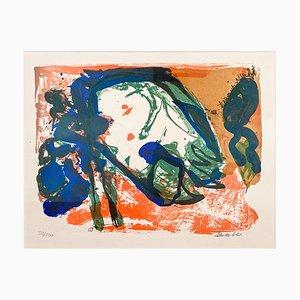 Abstract Composition, 1967, Farblithografie auf Bögen, Mogens Balle