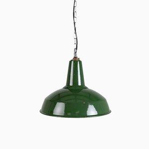 Große emaillierte Lampen von Benjamin Electric Manufacturing Company