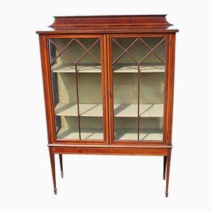Mahogany & Glass Cabinet, 1920s