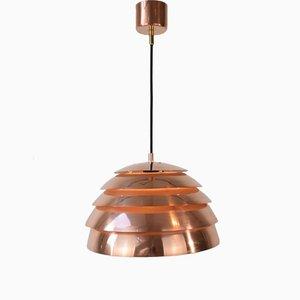 Copper Beehive T325 Pendant Lamp by Hans-Agne Jakobsson, 1960s