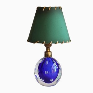 Murano Glass Ball Table Lamp by Pietro Toso, 1960s
