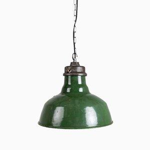 Große Emaille Lampen von Wardle