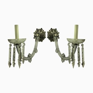 Antique Sconces, 1800s, Set of 2